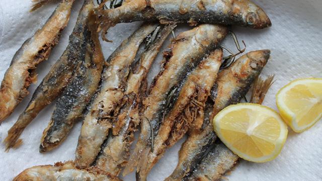 Fried-Sardines
